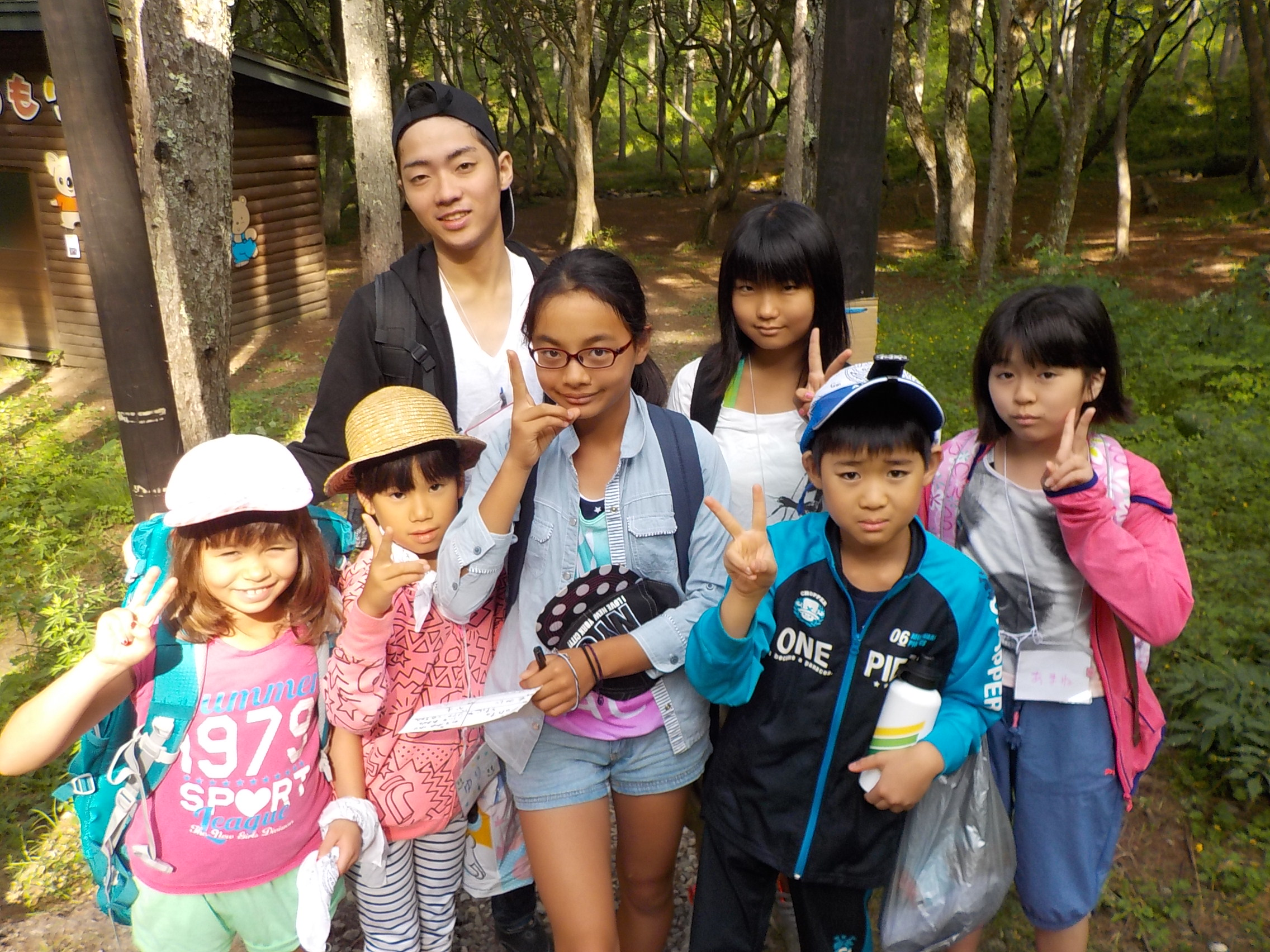 8月11日(火)わんぱくキャンプ3日目「水を楽しむ日」
