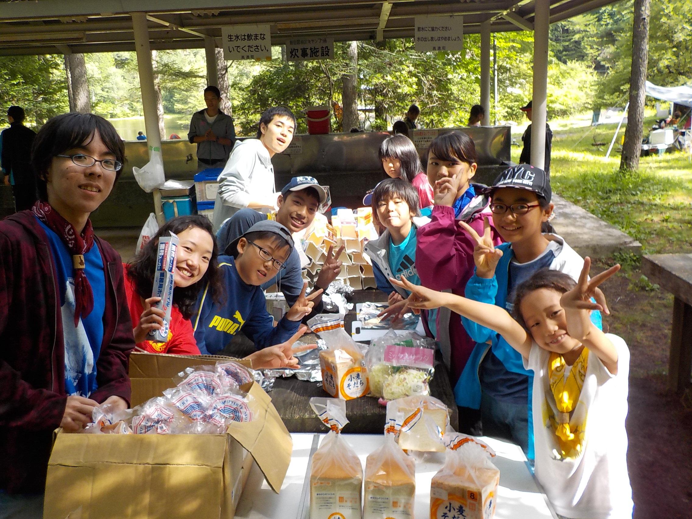 8月14日(金)わんぱくキャンプ6日目「自主企画の日」