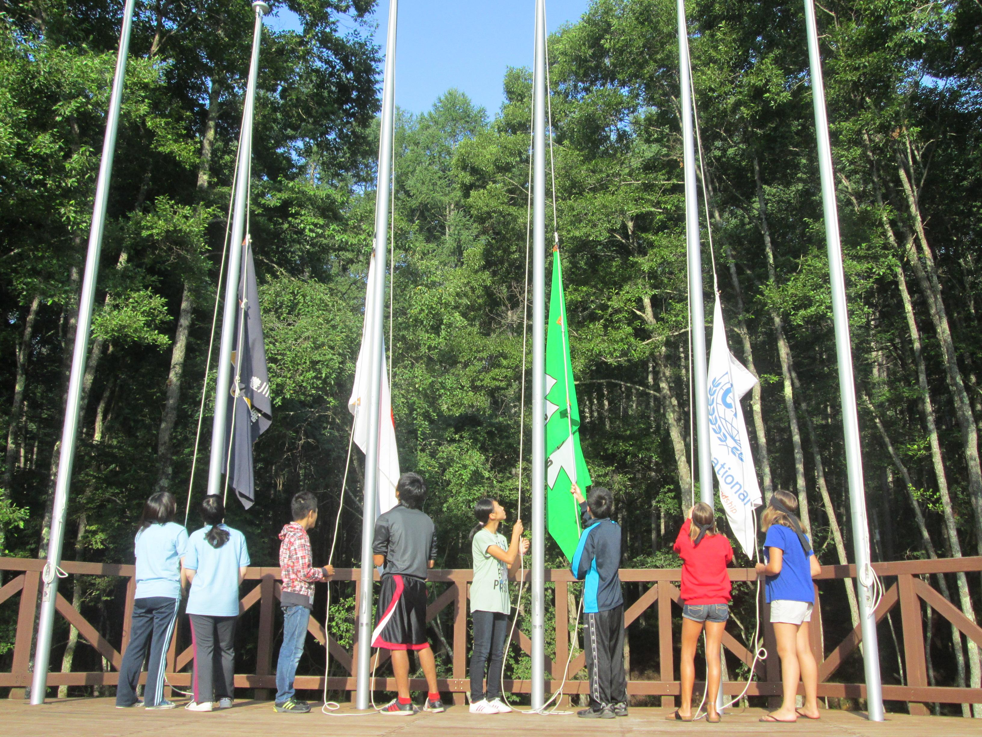 8月10日(月)わんぱくキャンプ2日目「森を楽しむ日」