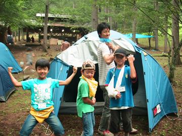 わんぱくキャンプ23
