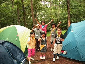 わんぱくキャンプ24