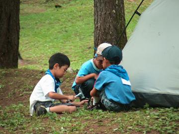 わんぱくキャンプ32