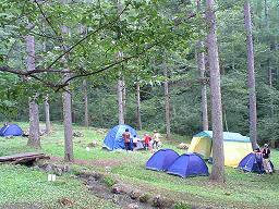 8月10日 わんぱくキャンプ初日 無事終了
