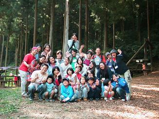 2007秋のファミリーキャンプ報告